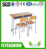 최신 판매 학교 교실 Doule 책상과 의자