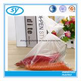 Sachet en plastique de catégorie comestible de LDPE sur le roulis