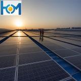 3.2mm / 4.0mm Ar-Revestimento de vidro solar de ferro baixo para painel solar