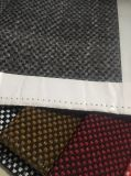100%Poliéster Plain Sofá Sofá tela tejido/correa