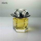 polygone d'OEM 50ml polissant la bouteille de parfum en verre de fantaisie avec le seul chapeau