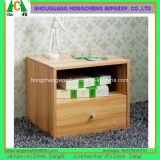 서랍 Nightstand 가슴 내각 침실 가구를 가진 영국 나무로 되는 침대 탁자