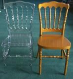 Cadeira de Napoleão resina transparente em acrílico