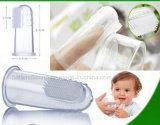 La brosse de doigt de bébé du silicone 2015 respectueuse de l'environnement la plus chaude
