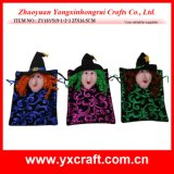 Decoração do Dia das Bruxas (ZY16Y514 34CM) Ideia do presente do Dia das Bruxas Boa decoração do chapéu da bruxa