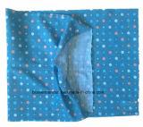 Bandana de couleur chamois tubulaire estampé du polyester de la fille bleue de logo personnalisée par produit d'OEM