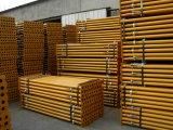 China Galvanized/tubos de andaimes de aço com revestimento a pó