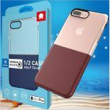 iPhone 6/6sのための新しい到着の耐震性の組合せカラー柔らかいTPU移動式裏表紙