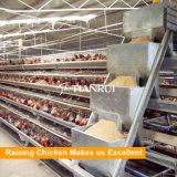養鶏場のためのデザインによって電流を通される電池の層の鶏のケージ
