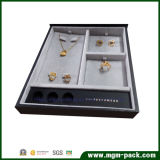 Hot Stamping PU Organizers Plastic Jewelry Set Box