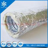 ISO R8 Fiberglass Insulation Flexible Duct with Aluminum Foil