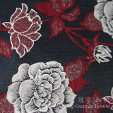 자카드 직물 셔닐 실 100%년 폴리에스테 털실은 소파 덮개를 위한 직물을 염색했다