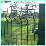 PVC/Powder에 의하여 입힌 용접한 철망사 담은 또는 철사 담 공장 가격을 용접했다
