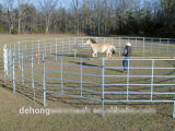 Скотины загородка пользы фермы временно и загородка лошади