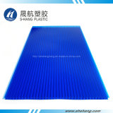 Blad van het Polycarbonaat van 100% het Maagdelijke Materiële UV Beschermde Zonne Plastic