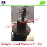 3m3 double arbre de mélangeur de mortier sec agravic