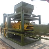 Máquina do bloco do baixo custo Qty5-15/bloco que faz a maquinaria