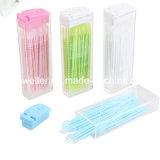 Устранимый Toothpick пластмассы зубоврачебной внимательности
