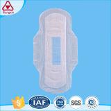 100 % biodégradable fibre naturelle des femmes des serviettes hygiéniques