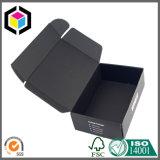 Rectángulo de envío de papel plegable de la cartulina de la impresión de color con el sostenedor