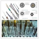 Plattiertes PBT Aluminiumgefäß-aus optischen Fasern zusammengesetzter obenliegender Erdungsdraht