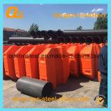 Float de tubos plásticos para projeto de dragagem