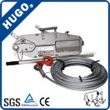 0.8t 1.6t 3.2t Wire Rope Pulling Hoist,