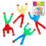 Het kleverige Stuk speelgoed van de Mensen van de Elastische van de Muur van de Leurders van het Venster van de Kruippakjes Klimmers van de Tuimelschakelaars Super