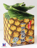 Faltender Pappe kundenspezifischer Farben-Papier-Imbiss-verpackenkasten
