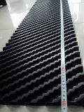 反対の流れのKingsun PVC冷却塔の盛り土300mm/600mm Width*Anyの長さ