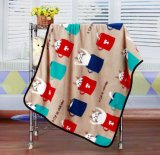 couvertures 100% à la maison de bébé de coton de modèles de 75cm*100cm