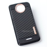 Fall des Kohlenstoff-Faser-Entwurfs-TPU für Motorola Moto C plus