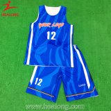 Do Sublimation cheio superior do Sportswear da venda de Healong basquetebol novo Jersey do estilo