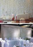 2017 nuevo blanco de 4 x6m LED RGB Cortina de estrella para la boda o discoteca