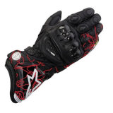 Attrezzo protettivo rosso del MX del guanto di cuoio che corre i guanti di sport (MAG99)