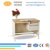 オフィス用家具のためのLh107木の表面の鋼鉄机