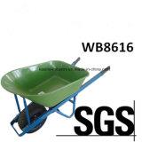 Carro do impulso da mão 110L&200kgs de Austrália/carrinho de mão de roda populares (WB8616)