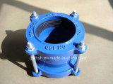 Adaptateur à bride rapide en fonte ductile pour tube PVC / PE