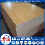 中国Luliのグループの/Melamineの合板の工場からの6mm薄板にされた合板