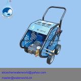 Colada de coche y máquina de alta presión del jet del producto de limpieza de discos y de agua