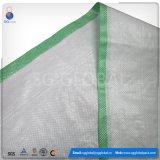 50kg de PP branco saco de tecido para embalagem de grãos de trigo para milho