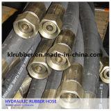 Draad van het staal vlechtte Hydraulische RubberSlang met Koppelingen