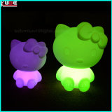 Lampe de table pour fête LED Phone Charge Hello Kitty Lamp
