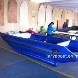 Boten van de Catamarans van pvc Hypalon/van Liya de Opblaasbare