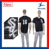 Healong guter Entwurf mit Baseball-Uniformen der Qualitäts-Sport-Abnützung-Sublimation-Männer