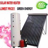 Calentador de agua de alta presión del sistema de calefacción de la agua caliente del colector solar del tubo de la fractura/de calor del balcón