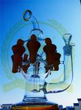 Tall Color Bowl Glass Craft Cenicero Shisha Hookah China Seguridad de Fabricantes y Entrega Rápida Vidrio de fumar Pipas de Agua