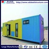 Huis van de Container van het sta-caravan het Prefab