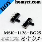 BAD Typ Positions-Kippschalter des Gleitschalter-2 (MSK-1126-BG25) SGS-3pin