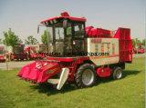 Milho usado máquinas da colheita para a colheita e a casca da orelha de milho